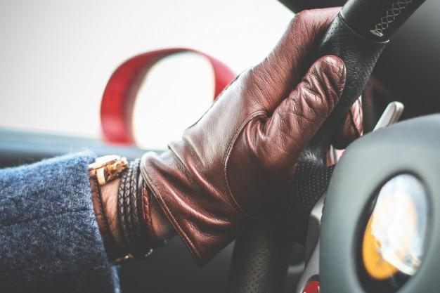 læderhandske